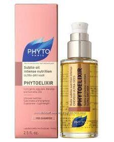 Phyto Phytoelixir Subtle Oil Фитоэликсир Масло-уход Интенсивное питание