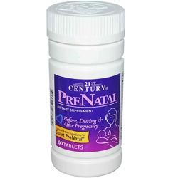 Витамины для беременных, PreNatal, 21st Century