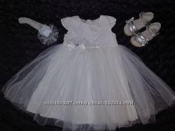 Платье и босоножки на 1 годик подарок