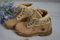 Кожаные деми ботинки Тимберленд р. 10, 5 стелька 17, 5