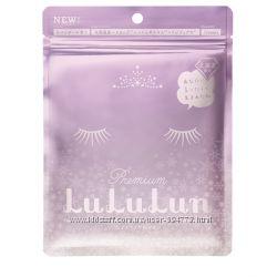 Набор японских увлажняющих масок для лица Lululun Premium, 7 шт
