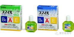 Японские глазные капли Lion Smile 40 EX с витаминами для свежести глаз