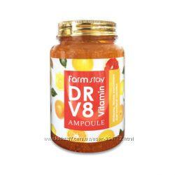 Антивозрастная сыворотка с витаминным комплексом Farmstay DR-V8, 250 мл