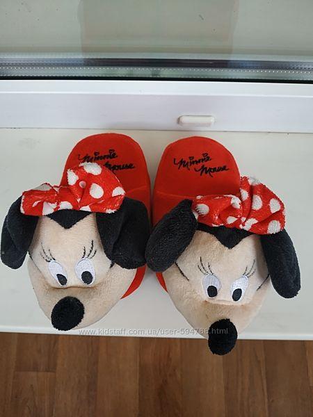 Тапочки-игрушки Minnie для девочки
