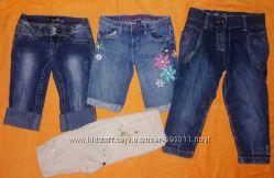 Бриджи, капри, шорты для девочки