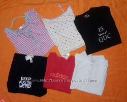 Майки, футболки, туники для девочек от 10 лет и старше . Часть 1