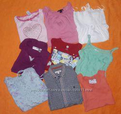 футболки разные для девочек 5-10 лет
