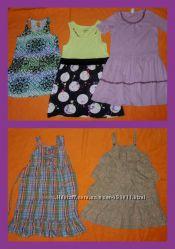 Платья, сарафаны девочкам 5-10 лет