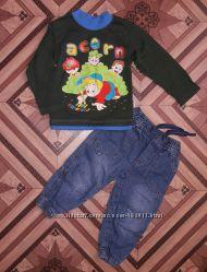 Комплект одежды для мальчика реглан и джоггеры