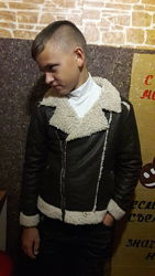 Куртка на меху Street gang