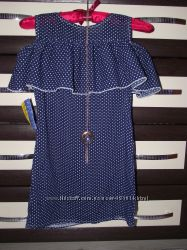 Новое летнее платье на девочку размер 128