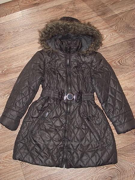 Курточка на девочку Tu 5-6 лет 110-116 см.