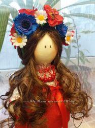 Интерьерная кукла ручной работы Украиночка