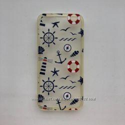 мягкий силиконовый чехол  для iPhone 5S