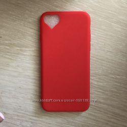 силиконовый чехол  для iPhone 7-8