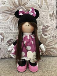 Интерьерная кукла ручной работы Minnie Mouse