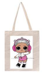 эко-сумка для девочек и мальчиков