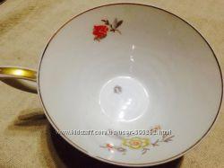 Фарфоровая чашка Grаf Krippner Selb Bavaria оригинал для чая с клеймом