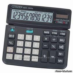 Калькуляторы Citizen SDC-895, SDS-344, Fine Gear Aurora DB526