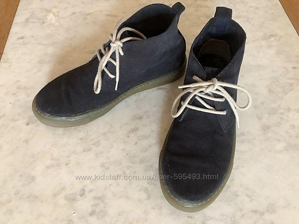 Ботинки замшевые Mango на парня р.40