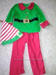 Новогодний костюм помощника Санты