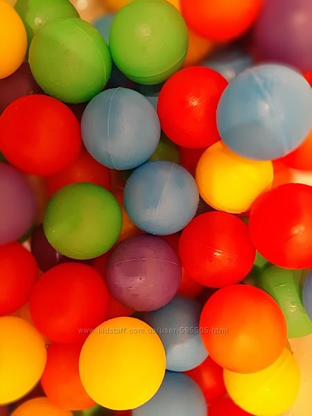 Шарики мячики для сухого бассейна 8 см