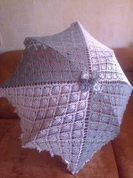 Красивый ажурный зонт для фотосессий