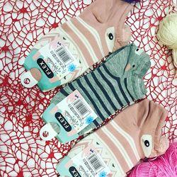 Женские носки Мордочки Flex размер 35-41