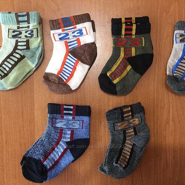 Носочки для новонарожденных