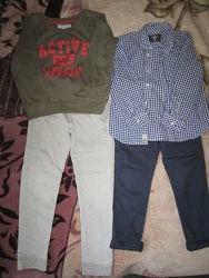 пакет одежды мальчику рост 128