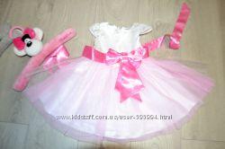 Нарядное платье на Gloria Jeans 12-18мес. р. -86