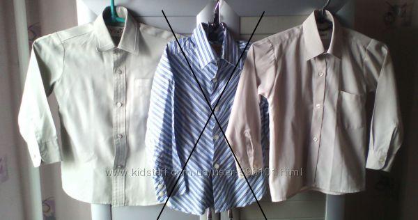 Рубашки р. 104-110