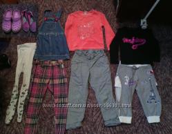 Пакет одежды 3-5лет и обувь