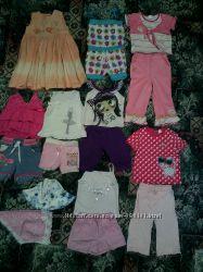 Пакет летней одежды 2-3года 16штук