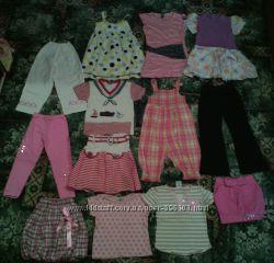 Пакет летней одежды 4-5лет 13штук