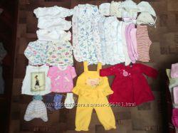 Пакет одежды до 1года 35штук