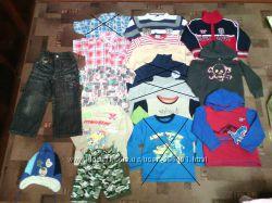 Пакет одежды 3-5лет 13штук