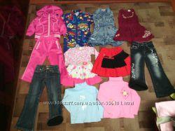 Пакет одежды 3-5лет 11штук