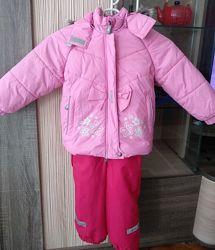 Зимний комбинезон Lenne на девочку, почти не носили