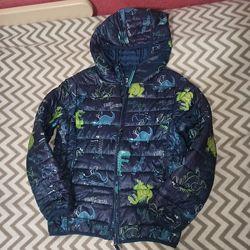 Осенняя куртка на мальчика Cool club 134 р.
