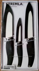 Керамические ножи ИКЕА белая керамика