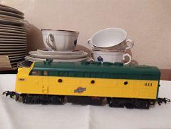 Паровоз тепловоз электровоз локомотив North Western Chicago System