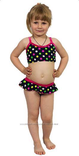 Детские трикотажные купальники на рост 86, 98, 104, 110
