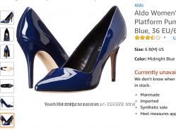 Туфли Aldo 37 размер