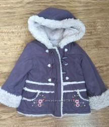 Замшевая демисезонная курточка