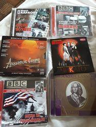 Музыкальные и видео диски на любой вкус.