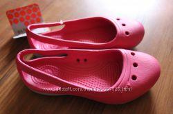 bfec97c74 Детские балетки Crocs duet flat girls, размер С9, С10, С11, С12 ...