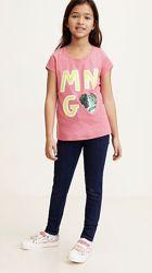 Детская футболка летняя футболка Mango.