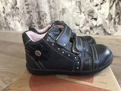 Кожаные ботинки деми Ponte20, р.24