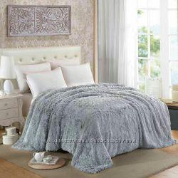 Покрывало на кровать меховое по супер цене